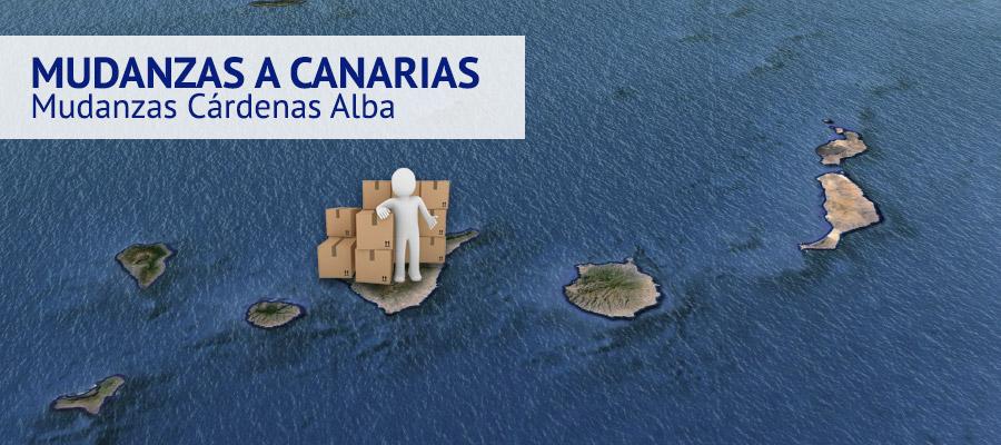Mudanzas a Canarias - Mudanzas Cárdenas Alba