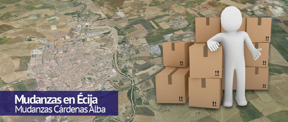 Mudanzas en Écija - Mudanzas Cárdenas Alba