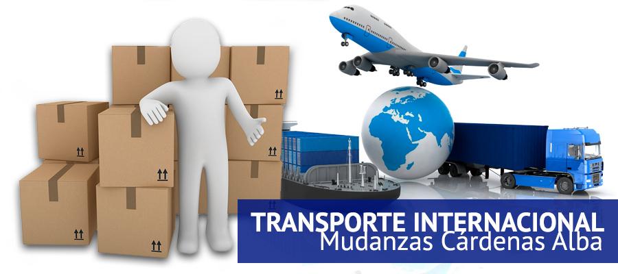 transporte internacional - Mudanzas Cárdenas Alba