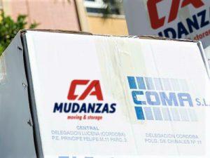 Portes en Córdoba - Mudanzas CA Mudanzas