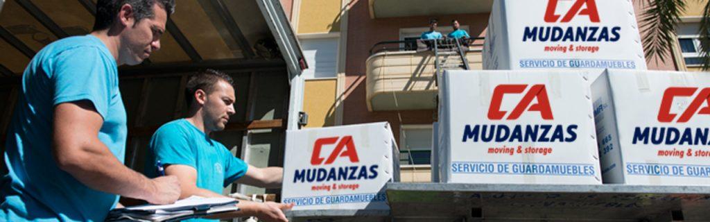 Mudanzas para gays en Málaga - CA Mudanzas